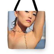 East Meets West Tote Bag