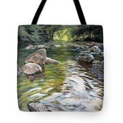 East Okement River Tote Bag