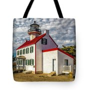East Point Light -renovated Tote Bag