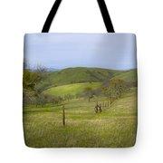 East Ridge Trail Barbed Wire Tote Bag
