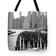 East River #1 Tote Bag