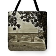 East River Drive - Philadelphia Tote Bag by Bill Cannon