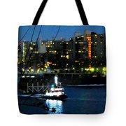 East River Traffic 2 New York Tote Bag