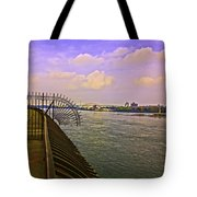 East River View Looking North Tote Bag