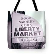 East Side Awning Tote Bag