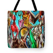 East Side Gallery Tote Bag by Joan Carroll