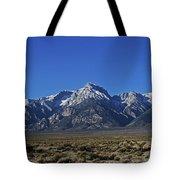 East Side Sierra Nevada Range Tote Bag