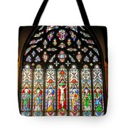 East Stained Glass Window Christ Church Cathedral 1 Tote Bag