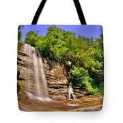 Eastatoe Falls/twin Falls 2 Tote Bag
