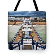 Eastbourne Pier Tote Bag
