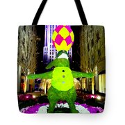 Easter Abstract Tote Bag