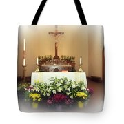 Easter Alter Tote Bag