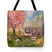 Easter At My House Tote Bag