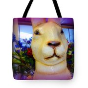 Easter Bunny Bouquet Tote Bag