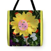 Easter Chick Decoration Tote Bag