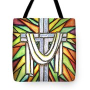 Easter Cross 5 Tote Bag