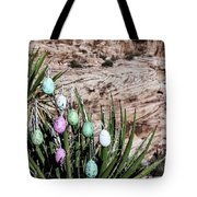 Easter Eggs On The Tree Tote Bag