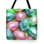 Easter Eggs Viii Tote Bag