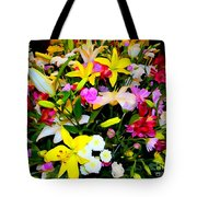 Easter Flowers Tote Bag