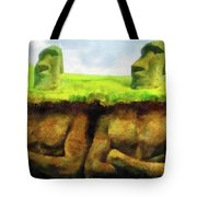 Easter Island Truth Tote Bag