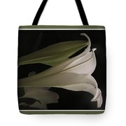 Easter Lily Card Tote Bag