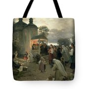 Easter Matins Tote Bag by Nikolai Pimonenko