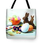 Easter Morning Still Life Tote Bag