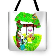 Easter Show Some Bunny Love Tote Bag