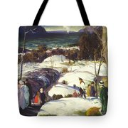 Easter Snow Tote Bag