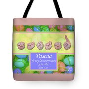 Easter Spanish Tote Bag