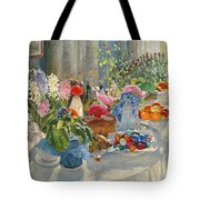 Easter Table Tote Bag