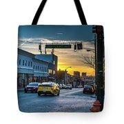 Eastern Avenue Sunset Tote Bag