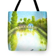 Eastern Canal Impression Tote Bag