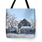 Eastern Montana Farmhouse Tote Bag