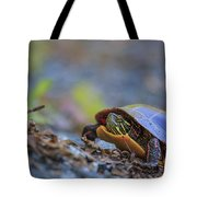 Eastern Painted Turtle Chrysemys Picta Tote Bag