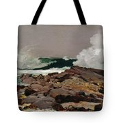 Eastern Point Tote Bag by Winslow Homer