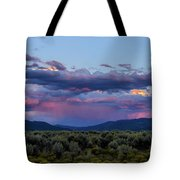 Eastern Sky At Sunset - Taos New Mexico Tote Bag