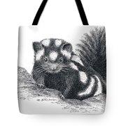 Eastern Spotted Skunk Tote Bag
