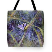 Eastern Tailed Blue Tote Bag