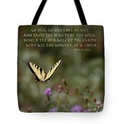 Eastern Tiger Swallowtail Butterfly - The Beauty Of The Wild Tote Bag