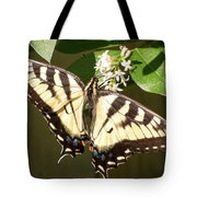 Eastern Tiger Swallowtail  Butterfly Wingspan Tote Bag
