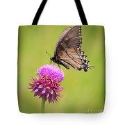Eastern Tiger Swallowtail Dark Form  Tote Bag