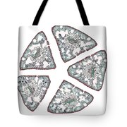 Eastern White Pine Needles, Lm Tote Bag