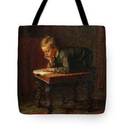 Eastman Johnson - Reading Boy Tote Bag