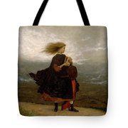 Eastman Johnson - The Girl I Left Behind Me Tote Bag