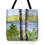 Eastport Maine Coastal Afternoon Tote Bag