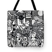 Eat Chocolates Child Eat Chocolates Tote Bag