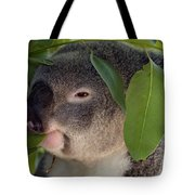 Eat Your Greens Tote Bag by Mike  Dawson