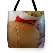 Eating In The Car Tote Bag