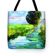 Ebb And Flow - Coppped Tote Bag